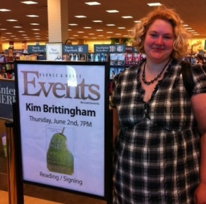 Read My Hips reading & book signing at Barnes & Noble