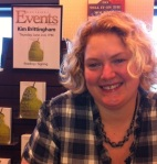 At a reading/booksigning for Read My Hips at Barnes & Noble.