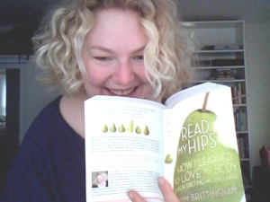 The day published copies of Read My Hips arrived at my door!